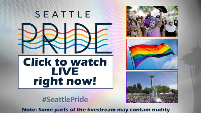 LIVE: Watch the 43rd Annual Seattle Pride Parade