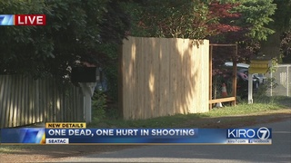 1 dead, one critically hurt in SeaTac shooting