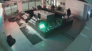 Pot shop thieves making out with very little product