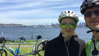 Seattle father, daughter cycling cross-country to save Orcas