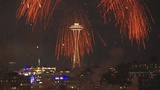 RAW VIDEO: Fourth of July fireworks in Seattle (2017)