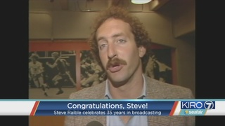 VIDEO: Steve Raible tribute for 35 years at KIRO 7
