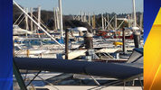 A boat caught on fire at the Everett Marina about 7:30 p.m. Saturday, July 8.