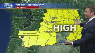 KIRO 7 PinPoint Weather for Sunday, July 23