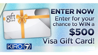 Enter to win a $500 Visa gift card from KIRO 7