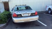 Gunshots hit a Sumner police car as well has the City Hall early Tuesday.