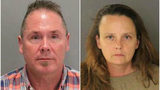Photos from the San Jose Police Department. Pictured from left to right: Michael Kellar and Gail Burnworth.
