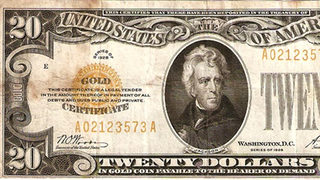 What is a gold certificate?