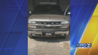 Man arrested in Kitsap Co. with truck decked out to look like police vehicle