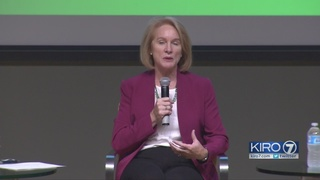 Seattle mayoral candidates meet in first clash of the general election