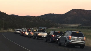 Eclipse traffic is already awful