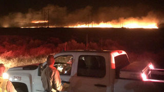 One home destroyed in wildfire near Quincy, prompts early morning evacuations