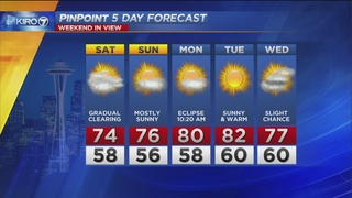 KIRO 7 PinPoint Weather Video for Fri. Evening