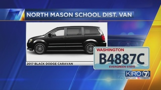 North Mason School District van stolen