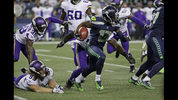 Seattle Seahawkss' Cyril Grayson returns a kick against the Minnesota Vikings during the first half of an NFL football preseason game, Friday, Aug. 18, 2017, in Seattle. (AP Photo/Stephen Brashear)