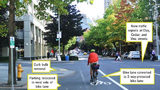 VIDEO: Bike lane construction starts another expansion in downtown Seattle