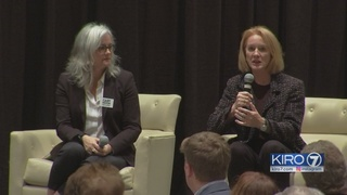 Durkan, Moon clash over experience in Seattle Rotary appearance