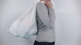 Pillow cases can become carrying bags.