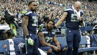 Seahawks players respond to Trump