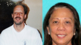Left: This undated photo provided by Eric Paddock shows his brother, Las Vegas gunman Stephen Paddock. Right: This undated photo provided by the Las Vegas Metropolitan Police Department shows Marilou Danley (girlfriend of Stephen Paddock)