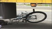 A Shorewood High School student was critically hurt when he collided with semi truck while riding his bicycle.