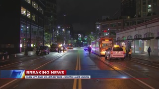 Pedestrian hit and killed by bus in SLU