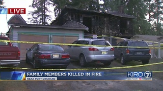Woman, son, two grandchildren remembered after dying in fire near Port Orchard