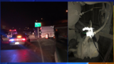 Troopers: Rolled over semi