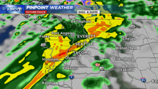 Breezy Tuesday with increasing wind and rain Wednesday