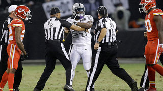 Marshawn Lynch ejected for pushing official
