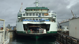 New $122 million Washington State Ferry floats for first time