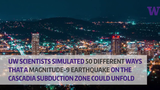 The subduction zone is a fault at the bottom of the Pacific Ocean, and two plates colliding could eventually slip – triggering a massive earthquake that could shake the northwest. Researchers ran 50 scanarioes of how that could play out.