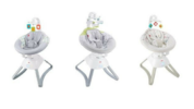 Fisher-Price recalled about 63.000 Soothing Motions Seats. Seats with model numbers CMR35, CMR36, CMR37, and DYH22 and Smart Connect Soothing Motions Seats with model number CMR39. – Consumer Product Safety Commission