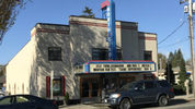 """The small balcony of the North Bend Theatre includes a cozy """"owner's box"""" with an unobstructed view of the movie screen. (Feliks Banel/MYNorthwest.com)"""