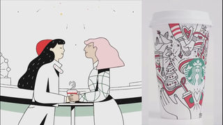 Some say Starbucks holiday cups promote homosexuality