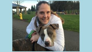 Olympia veteran reunited with pet stolen 6 years ago