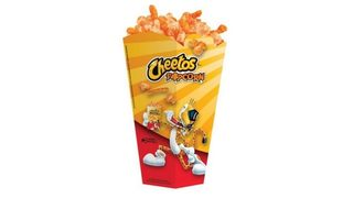 Cheetos popcorn served at Regal Cinemas
