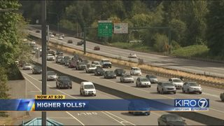 Researchers say tolls higher than $10 could help traffic on I-405