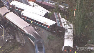 NTSB initial derailment review: Crew used no electronic devices, engineer commented on speed