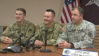 VIDEO: Three Joint Base Lewis-McChord service members run to rescue train victims