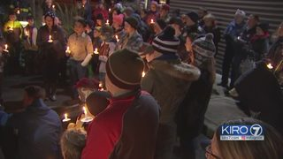 VIDEO: Community gathers to remember victims in train derailment