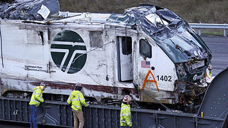 How to recover missing items from Amtrak crash