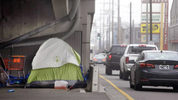 Results from a homeless study released in August 2016 show more than 70 percent of those living on the streets became homeless in King County. (AP)