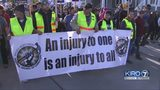 VIDEO: Thousands march from Garfield HS to Westlake Park