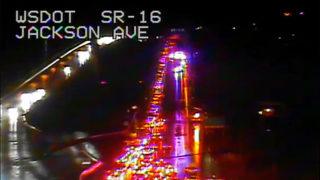 Police activity causes backup on SR 16 near Tacoma Narrows Bridge