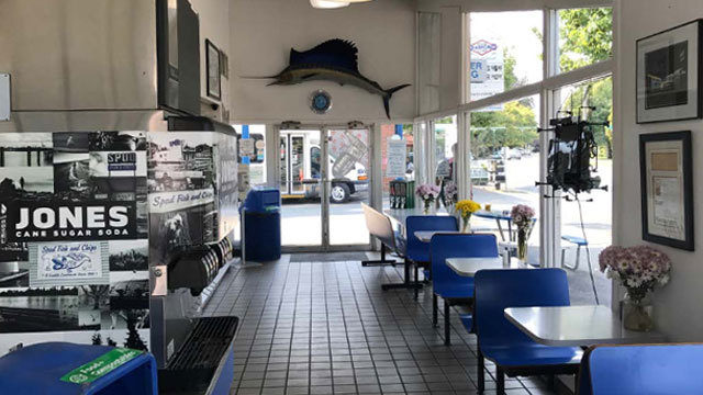 Spud fish chips up for landmark status but that could close green image seattles landmark preservation board via the johnson partnerships application malvernweather Gallery