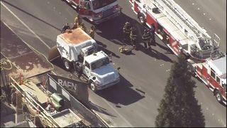 Pedestrian hit, killed by street sweeper in Bellevue