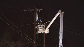 Snohomish County crews work to restore power as temps drop below freezing