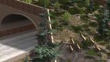 VIDEO: Construction starts on wildlife overpass