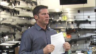 Bellevue gun shop owner pushes for gun control compromise, raises age to buy rifle to 21